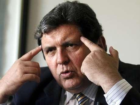 <p>Alan García.</p>
