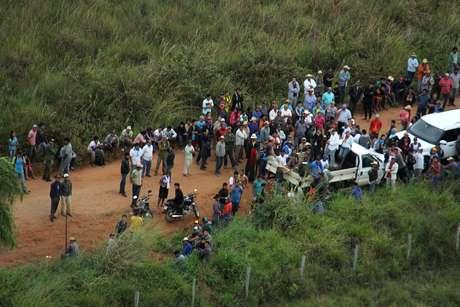 <p>Houve confronto entre índios e forças policiais na fazenda Buriti, em Sidrolândia</p>