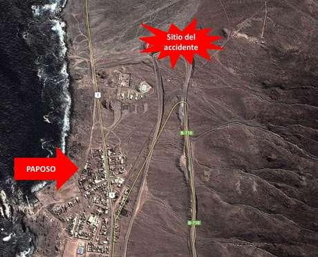 Foto: Imagen geográfica de Google Maps