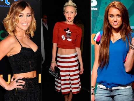 <p>Miley Cyrus luego de ser una de las niñas más tiernas de Disney, reflejó su paso de adolescente a mujer en su drástico cambio de look con un elevado estilo punk a su máxima potencia. ¡Mira aquí cuánto ha crecido la hermosa y ahora muy sexy jovencita!</p>