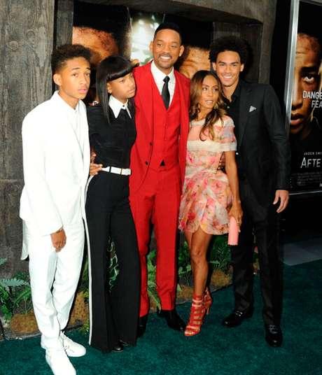 Una de las parejas más sólidas de Hollywood, Will Smith y Jada Pinkett y sus hijos Jaden, Willow y Trey