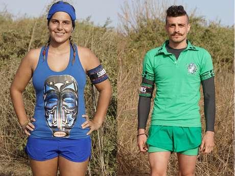 Carolina y Alejandro serían los ganadores del Desafío África.