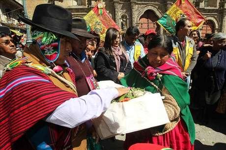 """Bolivia prepara una ley para proteger a etnias """"en peligro de extinción"""""""