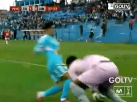 Foto: Captura de TV: Gol TV