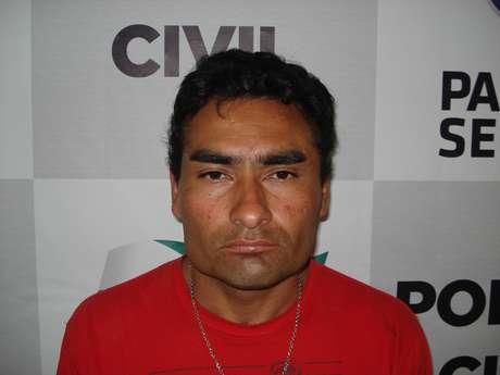 Luis Antonio da Silva Cruz foi detido por ato obsceno - ele mostrou e esfregou o pênis em mulheres no ônibus Foto: Polícia Civil PR / Divulgação
