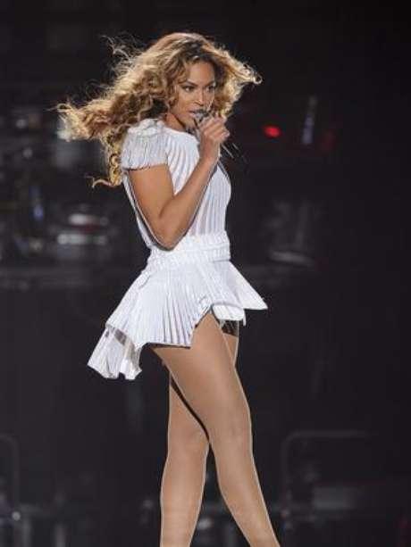 Beyoncé quer um frigobar instalado no palco, durente seus shows no Brasil Foto: AP