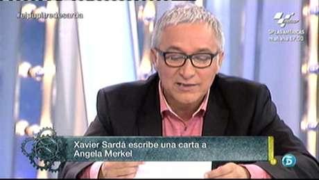 Javier Sardá, en 'El gran debate'