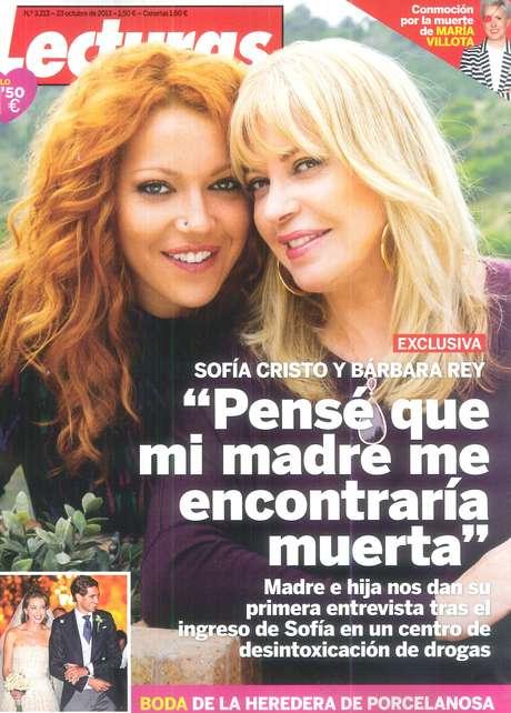 <p>Sofía Cristo y Bárbara Rey</p>