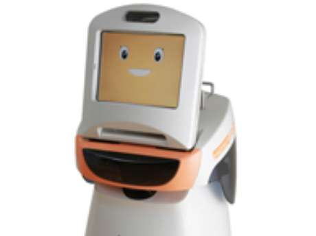 Robô Hospi-Rimo pretende ajudar a suprir demanda por profissionais de saúde no Japão. Foto: Reprodução
