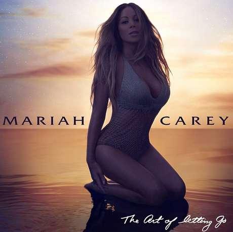 Mariah foi muito elogiada por seus seguidores pela capa do single Foto: Instagram / Reprodução