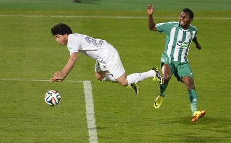 Deo Kanda jogou pelo Mazembe o Mundial de Clubes em 2010