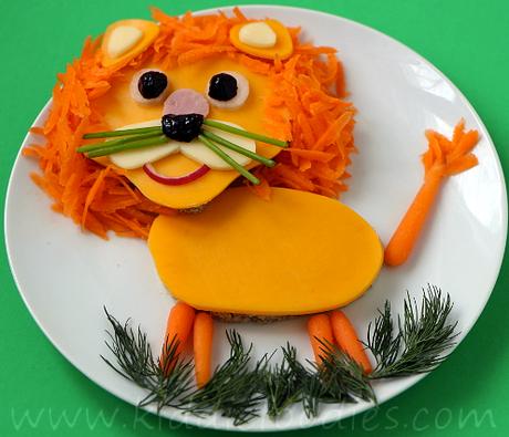 Comida para niños con figuras de animales: Cómo crearla de forma fácil