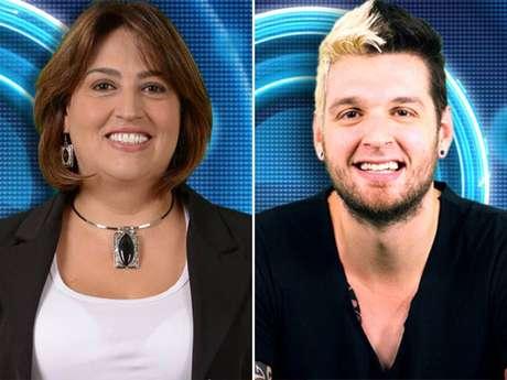 A mãe de Cássio, Suzi, defendeu o brother Marcelo Foto: TV Globo / Divulgação