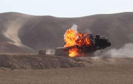 Siete plantas mineras ilegales fueron destruidas en Arequipa