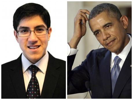 El niño, Suvir Mirchandani propone que la Casa Blanca cambie la letra de los documentos oficiales.