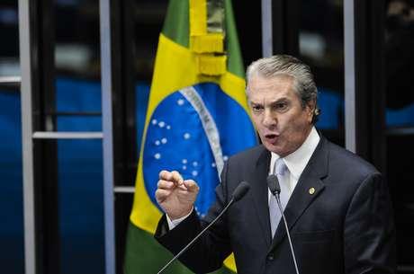 Collor teria recebido propina de subsidiária da Petrobras Foto: Pedro França / Agência Senado