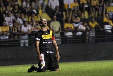 Paulo Baier disputou a Série A 2014 pelo Criciúma (foto de arquivo) Foto: Fernando Ribeiro / Futura Press