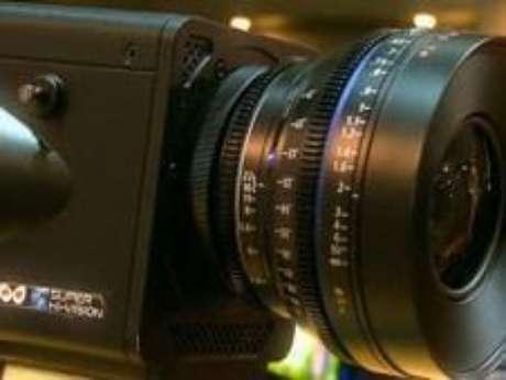 Primera cámara en 8K, de NHK Foto: BBC Mundo / Copyright