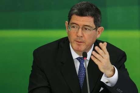 Joaquim Levy afirmou que aumento nos combustíveis só trará ganhos para a União, não para os produtores Foto: Ueslei Marcelino (BRAZIL - Tags: POLITICS BUSINESS) / Reuters