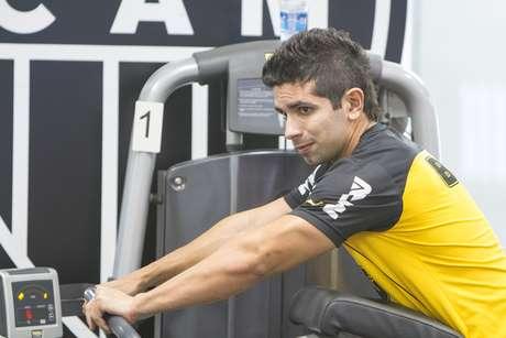 Guilherme tenta se recuperar de lesão Foto: Bruno Cantini/Atlético-MG / Divulgação