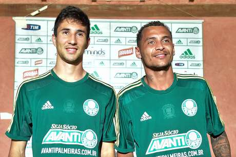 Ryder e Alan Patrick são apresentados no Palmeiras Foto: Fernando Dantas  / Gazeta Press