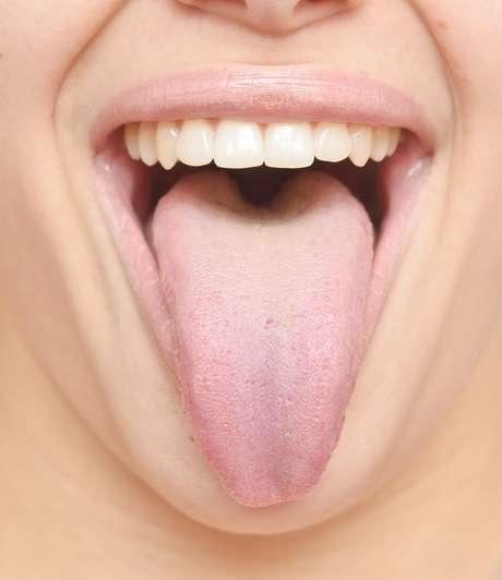 Uma boa higiene diária da boca e da língua, com sua escovação frequente pode evitar problemas causados pelo sabor artificial dos alimentos Foto: NRT / Shutterstock