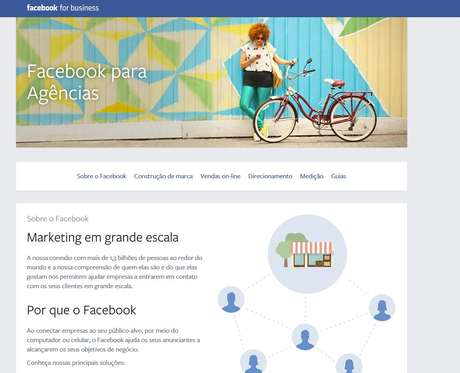O portal também informará sobre as datas dos webinars (treinamentos online) aplicados pelo Facebook ao longo de 2015 Foto: Facebook / Reprodução