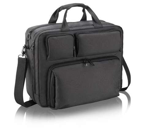 Smart Bag Bo200, da Multilaser, comporta notebooks de até 15,6 polegadas Foto: Divulgação