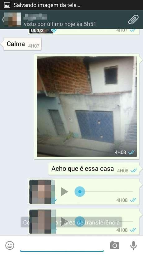 Em São Paulo, amigo do grupo ajuda a localizar um dos bandidos Foto: Lennon Rebechi / vc repórter