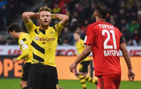 Time aurinegro está decepcionando na atual temporada da Bundesliga Foto: Lars Baron / Getty Images