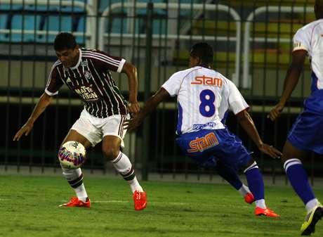 Fluminense matou o jogo ainda na etapa inicial Foto: Nelson Perez/Fluminense / Divulgação
