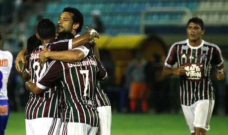 Fluminense não teve problemas para estrear com vitória no Campeonato Carioca Foto: Nelson Perez/Fluminense / Divulgação