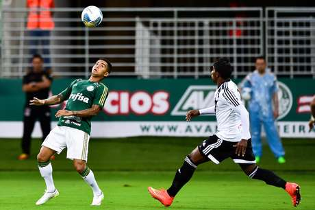 Dudu fez sua estreia oficial com a camisa do Palmeiras Foto: Fernando Dantas / Gazeta Esportiva