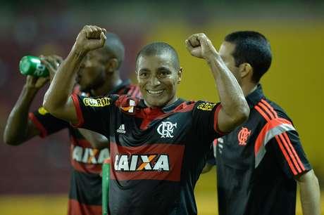Anderson Pico em ação pelo Flamengo (foto de arquivo) Foto: Pedro Martins / Agif / Gazeta Press