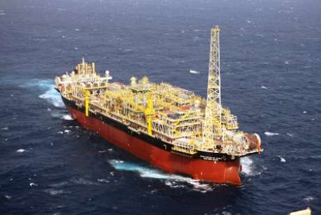Plataforma opera desde junho de 2009 e está localizada na Bacia do Espírito Santo Foto: Agência Petrobras / Divulgação