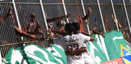 Time tricolor é o líder isolado do estadual Foto: Nelson Perez / Fluminense FC/Divulgação