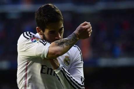 Isco acertou chute indefensável no primeiro tempo Foto: Javier Soriano / AFP