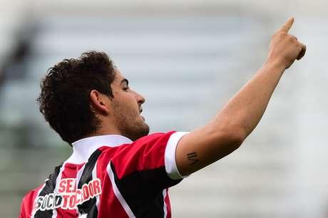 Pato fez seu quarto gol no Campeonato Paulista Foto: Djalma Vassão / Gazeta Press