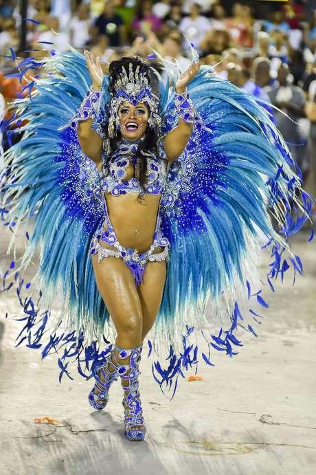 """As pessoas confundem política com Carnaval"""", disse Raissa Foto: Rudy Trindade / FramePhoto"""