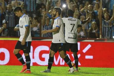 Pedro Rocha fez o segundo gol da partida Foto: Itamar Aguiar / Raw Image/Gazeta Press