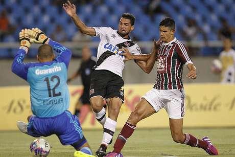 Gilberto estreou bem pelo Vasco Foto: Marcelo Sadio/Vasco / Divulgação
