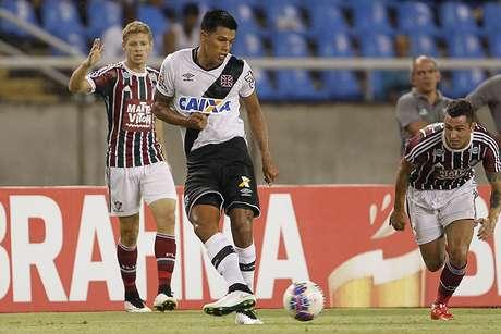 Vasco fez 1 a 0 sobre o Fluminense, neste sábado, no Estádio Nilton Santos Foto: Marcelo Sadio/Vasco / Divulgação