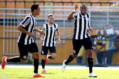 Atacante vinha jogando bem no Estadual, mas sem ser efetivo Foto: Luis Moura / Gazeta Press