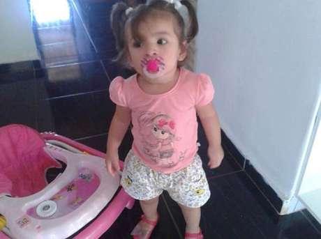 Bárbaraestava sendo criada pela avódesde que a mãe foi presa por estelionato Foto: Divulgação