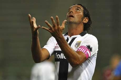 Alessandro Lucarelli declarou amor ao Parma Foto: Marco Luzzani / Getty Images