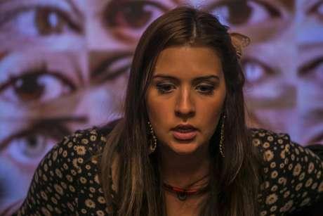 Tamires caiu no choro nesta quinta-feira (26) Foto: TV Globo / Divulgação