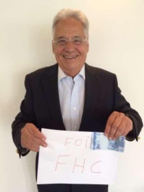 Foto publicada por FHC Foto: PSDB / Divulgação