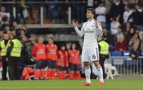 Ganhando espaço no Real, Lucas Silva não foi chamado por Dunga. Mas sim por Gallo Foto: Ballesteros / EFE
