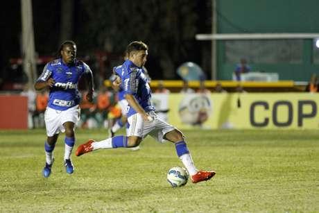 Allione anotou o segundo gol do Palmeiras na partida Foto: Elieze Oliveira / Futura Press
