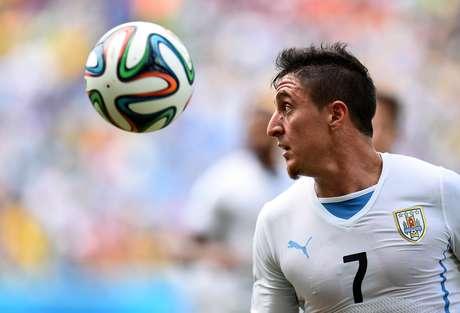 """Cristian """"Cebolla"""" Rodríguez defendeu a seleção uruguaia na Copa de 2010 Foto: Shaun Botterill / Getty Images"""